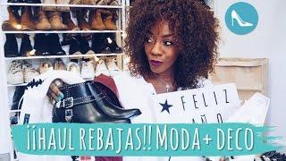 ¡¡HAUL REBAJAS!! MODA+ DECO| ASOS, ZARA, BERSHKA, PIMKIE, ETC.