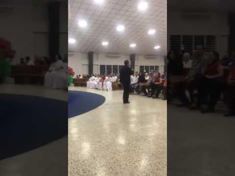 """Evang. Benicio Molina en la """"Iglesia El Faro"""" en Adjuntas Puerto Rico"""