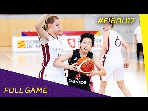 Latvia v Japan - CL 9-10 - Full Game - FIBA U17 Women's World Championship 2016