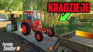Kradzieje Złodzieje❗️ Ukradli Nam Silnik  Rolnicy Mechanicy ⭐️ Farming Simulator 19