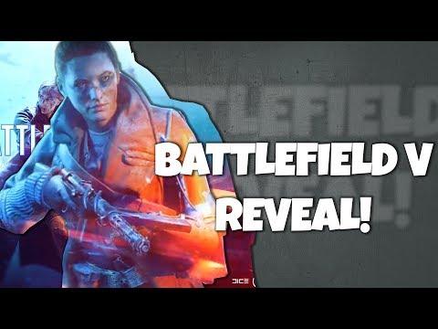 Battlefield V Live Reveal REACTION! RELEASE DATE CONFIRMED!