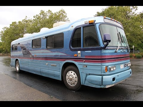 1962 GM 4106 Greyhound Bus RV Conversion