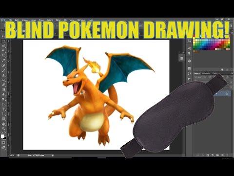 Blind Pokemon Drawing Challenge!