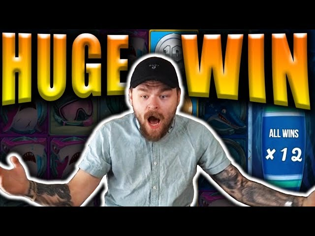 HUGE WIN on RAZOR SHARK - Casino Big Wins