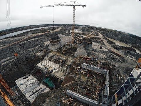 Белопорожская МГЭС - вахта 12 (Сентябрь 2017)