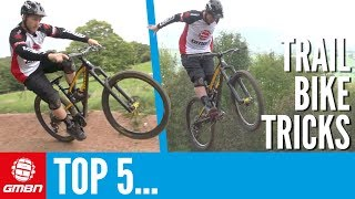 Video 5 Beginner Tricks To Learn On Your Trail Bike | Mountain Bike Tricks download MP3, 3GP, MP4, WEBM, AVI, FLV September 2018