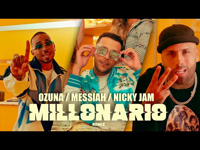 Messiah, Nicky Jam, Ozuna - Millonario Remix [Video Oficial]