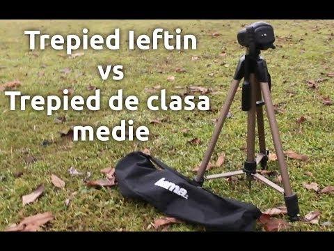 Trepied Ieftin vs Trepied de clasa medie