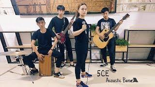 """Hot Face Ngọc Xuân Nhi - 5CE Acoustic Band biểu diễn ở """"Ừ Thì Acoustic Cafe"""" - 141A Đồng Đen"""