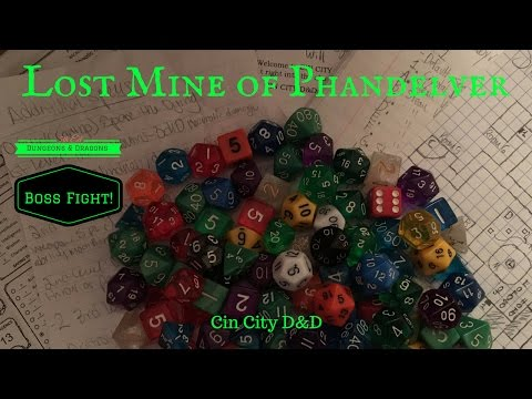 Lost Mine of Phandelver 004 - Mr. Goblin Boss Man