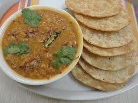 Dal Pakwan Recipe | Dal Pakwan By Sanjeev Kapoor | Most Famous Sindhi Breakfast | Khana Khazana