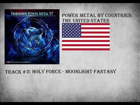 Power Metal by Countries Compilation: United States
