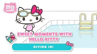Diving In! | Sweet Moments with Hello Kitty