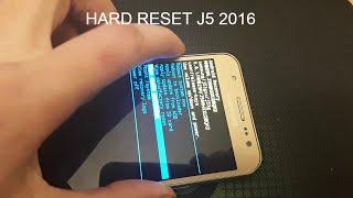 samsung Galaxy J5 - Сброс на заводские настройки ( Hard reset)