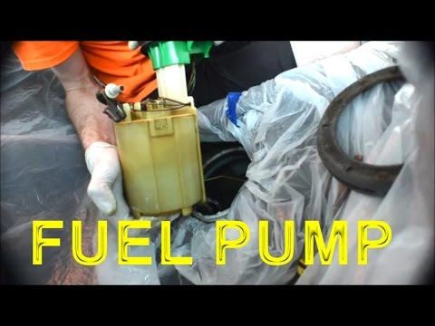 How To Replace Mini Cooper S Fuel Pump Youtube