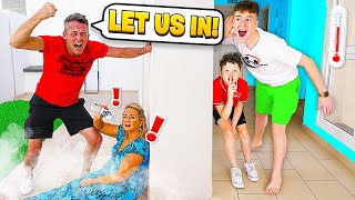 LOCKED OUT *PRANK* ON PARENTS!!