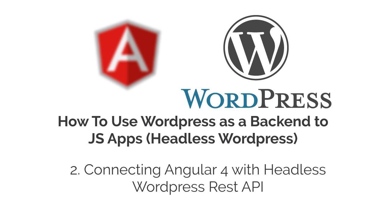 how to add api to wordpress