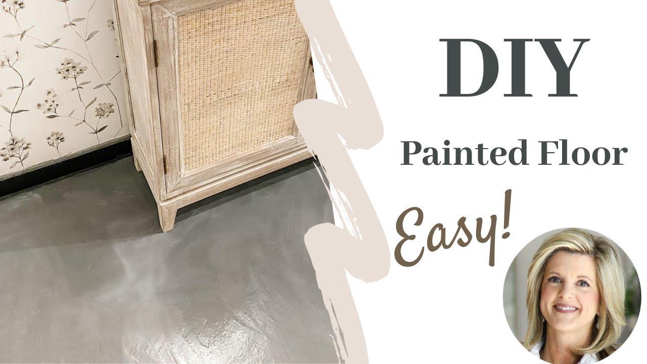 Rustoleum Floor Paint   DIY Floor   Product Review
