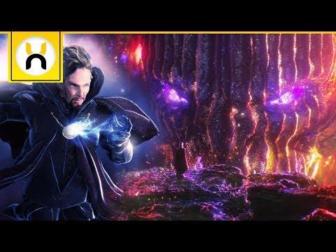 How Long Doctor Strange Was in the Dark Dimension Revealed | Avengers Infinity War
