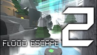 Roblox Flood Escape 2 (Test Map) - Glacier Blizzard (Amazing Crazy)(Duo with thoothyenemy911)