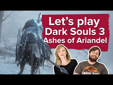 Let's play Ashes of Ariandel Dark Souls 3 DLC new PS4 gameplay