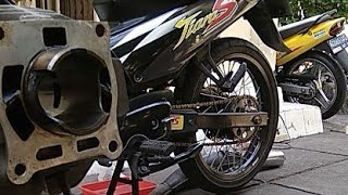 Cara Porting Blok Yamaha Tiara Bali || Aji VAS