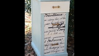 How To Glue Fabric To Wood Drawers - Diy Tutorial - Thrift Diving