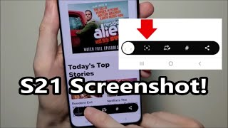 How to Screenshot oฑ Samsung Galaxy S21 / S21+ / S21 Ultra 5G