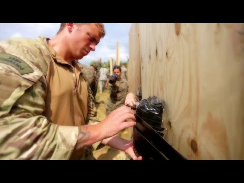 Combat Engineers & Explosive Ordinance Disposal - Urban Breaching Range