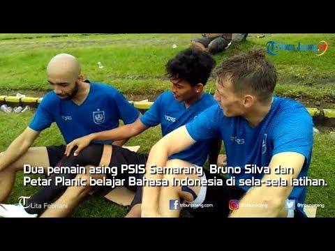 Lucu, Pemain Asing PSIS Semarang Belajar Bahasa Indonesia