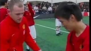 Manchester United Soccer School in Seoul - Visit Players