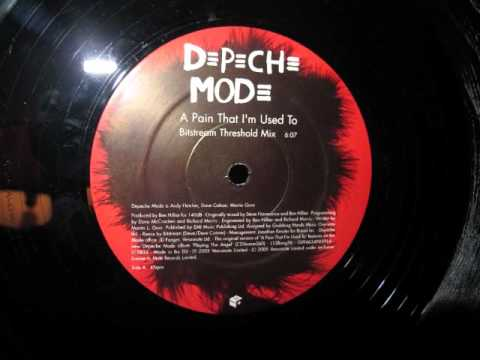 Depeche Mode- A Pain That I'm Used To (Bitstream Threshold Mix)