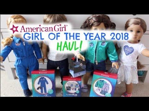 AMERICAN GIRL LUCIANA VEGA COLLECTION HAUL!!