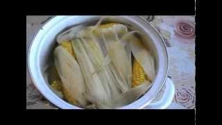 Вареная кукуруза