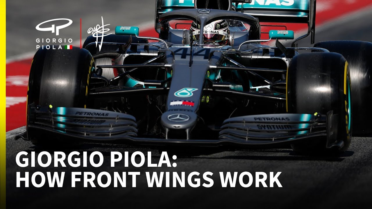 How a Formula 1 car works: Episode 1 - front wings