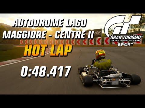 GT Sport Hot Lap // Nations Cup 2020 Rd.1 (Kart) // Autodrome Lago Maggiore Centre II