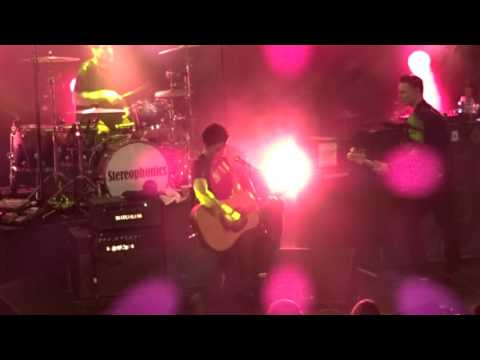 stereophonics@rock city, song for the summer 27/11/15