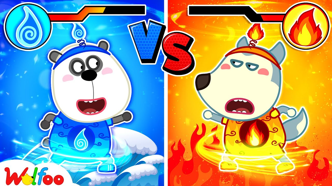 Download Fire Wolfoo vs Water Pando - Wolfoo Learns the Benefits and Harms of Water and Fire   Wolfoo Channel