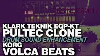 KLARK TEKNIK EQP-KT // PULTEC CLONE + KORG VOLCA BEATS