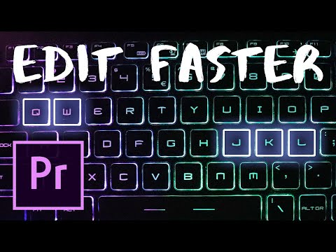 Adobe Premiere Pro Keyboard SHORTCUTS, TIPS and TRICKS to Edit Fast! 2019