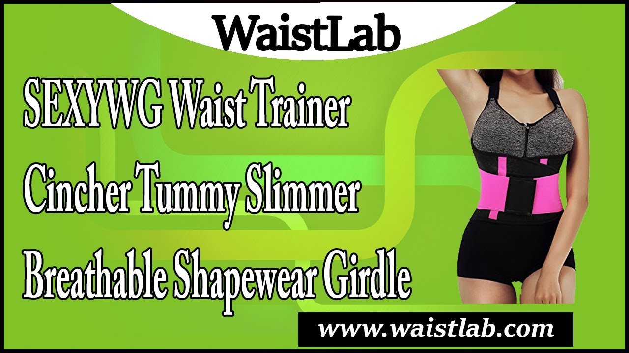 a7a585bcfb3 SEXYWG Waist Trainer Cincher Tummy Slimmer Breathable Shapewear Girdle  Review