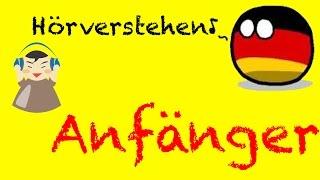 Deutsch Hörverstehen Modelltest für Anfänger| Hören Teil Start Deutsch Test - Prüfungstraining Zerti