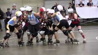 2014 Canada vs Argentina Blood & Thunder Roller Derby World Cup Dallas