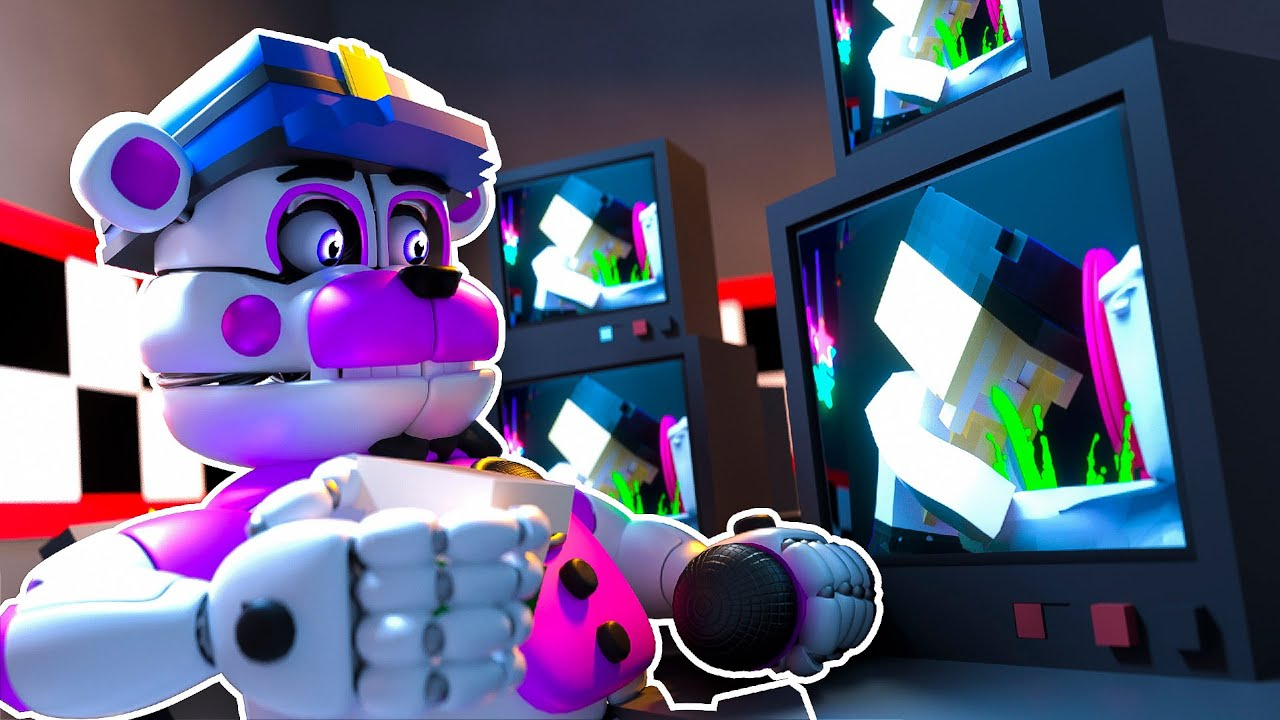 Funtime Freddy Becomes Security Guard | Minecraft Five Nights at Freddy's Roleplay
