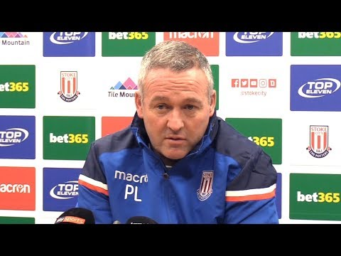 Paul Lambert Full Pre-Match Press Conference - Stoke v Huddersfield - Premier League