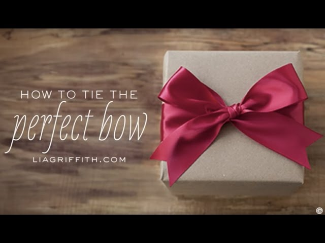 3 ways to tie a bow wikihow ccuart Image collections