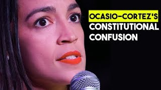 Ocasio-Cortez 2020? She Believes She Can Run Because The Constitution Only Applies To Men