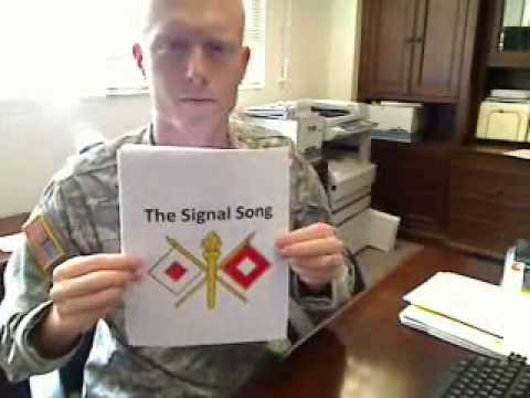 Fort Huachuca Army Signal Song by Capt. Frank