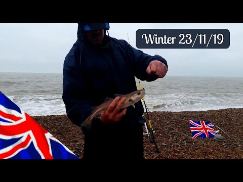 Winter Sea Fishing In The UK. November 23rd 2019