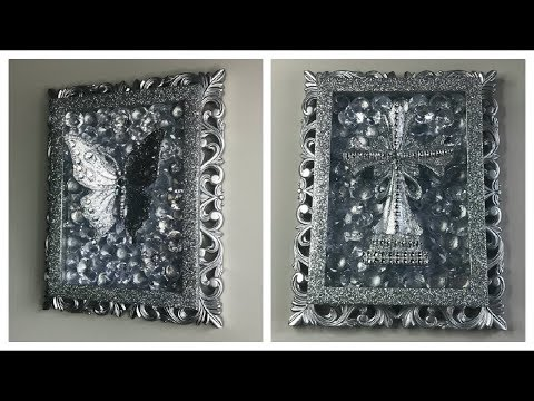 DIY DOLLAR TREE GLAM WALL DECOR 2019